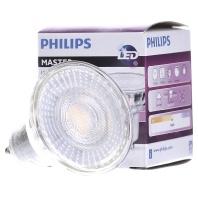 Philips LEDspot MV Value GU10 4.9W 930 60D (MASTER) | Beste Kleurweergave Warm Wit Dimbaar Vervangt