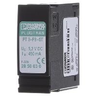 Phoenix Contact 2858030 PT 3-PB-ST Overspanningsbeveiliging-stekker industrieverpakkingseenheid