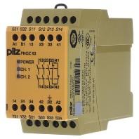 pnoz-x3-774318-not-aus-schaltgerat-230vac-24vdc-pnoz-x3-774318