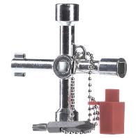 Rittal Universele sleutel met bit-adapter 2549500 Universele sleutel
