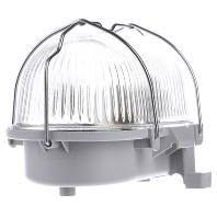 50500.009.1 - Kunststoff-Ovalleuchte grau A60 60W 50500.009.1