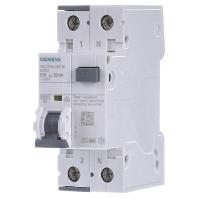 Aardlekschakelaar-zekeringautomaat 2-polig 10 A 0.03 A 230 V Siemens 5SU1354-3KK10