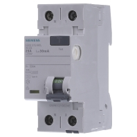 5SV3312-6KL Residual current breaker 2-p 25-0,03A 5SV3312-6KL