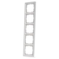 5TG1325 Frame 5-gang white 5TG1325
