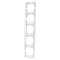 5TG1815 Frame 5-gang white 5TG1815