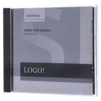 Siemens LOGO! Soft Comfort V8 PLC-software 6ED1058-0BA08-0YA1