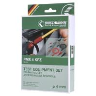SKS Hirschmann PMS 4 KFZ Meetsnoerenset [ Banaanstekker 4 mm Banaanstekker 4 mm] 1.5 m Zwart, Rood