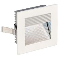 SLV LED-inbouwlamp Frame Curve 113290 LED 1 W Wit Aluminium