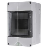 Kleine verdeler IP65 met transparante deur 200 mm 1 x 5 modules AK05