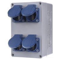 STG 004 - CEE-Steckdosen-Kombination STG 004