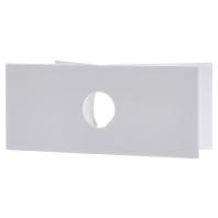 Hoekwandhouder voor wandlamp L 430 S, wit
