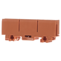 Wago lasklem din rail adapter