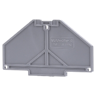 PAP PRV/PPV4 GR - Abdeckplatte grau, 3 mm PAP PRV/PPV4 GR