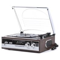 Soundmaster PL186 Platenspeler met Radio