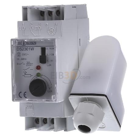DS2301W - Dämmerungsschalter 16A,250V,2-10000LUX DS2301W