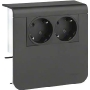 Socket outlet box for skirting duct SL 20055900 gsw