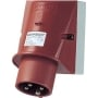 Mounted CEE-plug 32A 4p 6h 348 - Special sale - 1 pce. Available