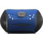 Portable radio/recorder SCD-24 blue/black