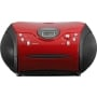 Portable radio/recorder SCD-24 red/black