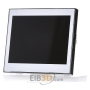 EIB KNX Corlo Touch Display, ELS 70258 CT KNX, white, with chrome-plated gloassy edge