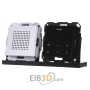Flush-mounted radio RDS black glass look, 228005 - special offer