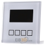 KNX/EIB Glas Temperature Controller with LCD display, white