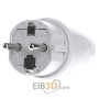 Protective contactPlug Grey 125463, special offer