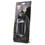 Pocket torch 97mm rechargeable black - Special sale - 1 pce. Available