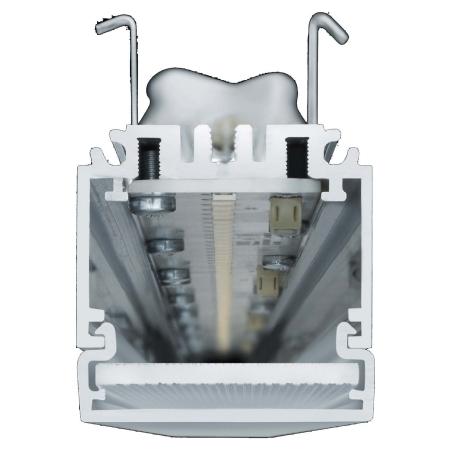 Schalt. IButton-Halter als Schlüsselanhänger blau  Sonstige Speicher Integ