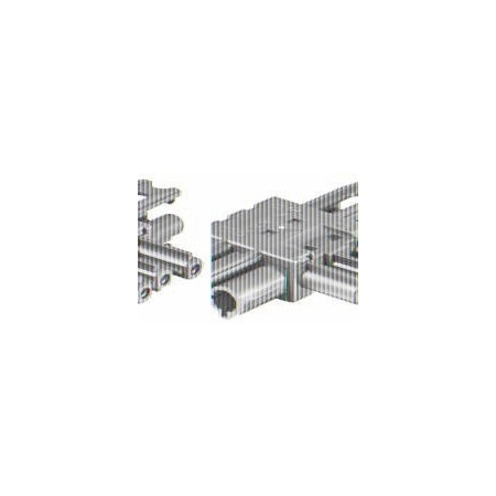 300 x 90 mm Befestigungsklammer isoliert