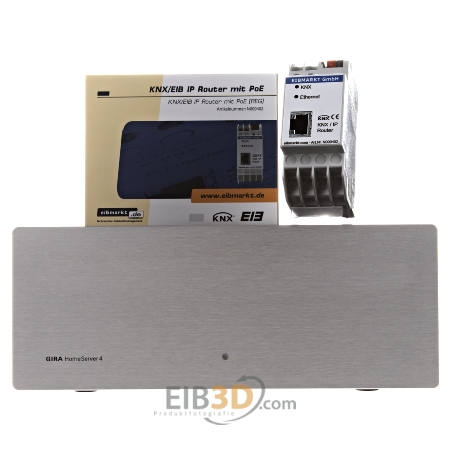 eib knx home server 4 mit eib knx ip router 52900. Black Bedroom Furniture Sets. Home Design Ideas