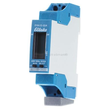 Eltako EVA12-32A Wechselstromzähler mit Energieverbrauchsanzeige