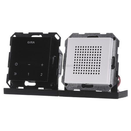 Tischsteckdose Steckdosenleiste weiß 3-fach 250V//16A ohne Kabel mit Zugentlastun