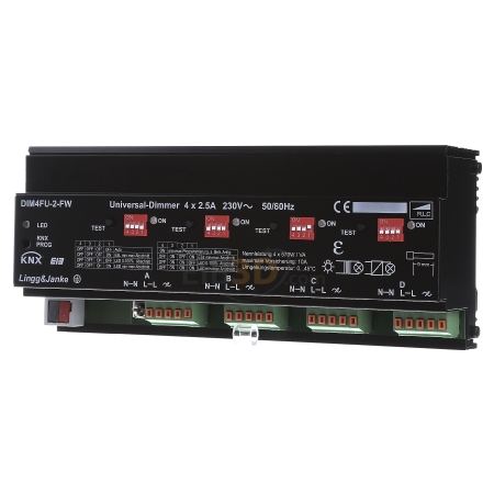 VA 230V eibDUO KNX 4-fach Dimmaktor Lingg /& Janke DIM4FU-IP 4x570W