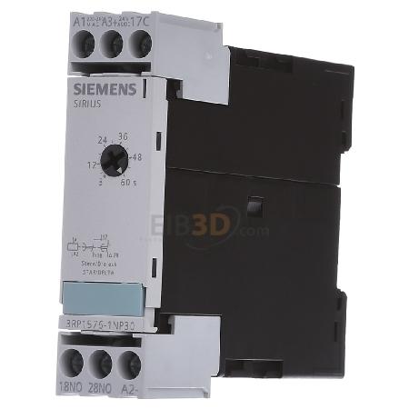 55d7e96bf13 eibmarkt.com - Timer relay 3...60s AC 24V DC 24V 3RP1576-1NP30