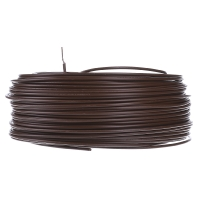 Single-core wire, H07V-U 1.5 brown