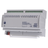 EIB/KNX Binary Input 16-fold, 8SU MDRC, Contact Inputs - BE-16000.02