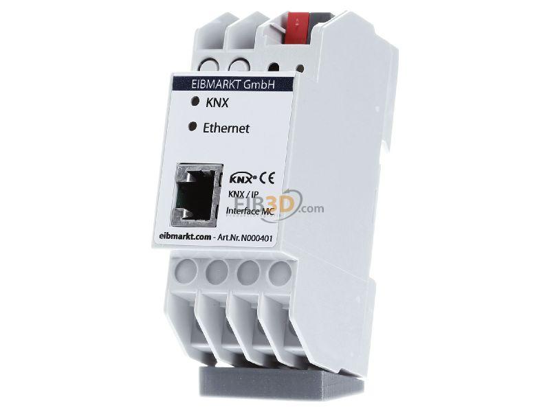 MDT EIB, KNX IP Schnittstelle, Interface mit PoE und max. 5 Tunneling Verbindungen