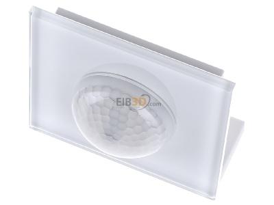 MDT Präsenzmelder 360°, 3 Pyro, mit Raumtemperatursensor und Glasfront in Weiß