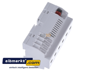 View top left EIBMARKT SA.12.16 (3 Jahre Garantie) EIB KNX switch actuator 12-fold, SA.12.16 with very large parameters