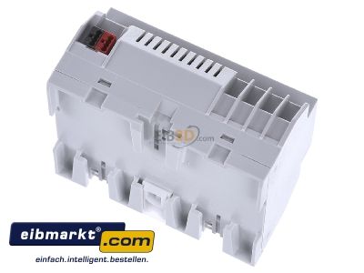Top rear view EIBMARKT SA.12.16 (3 Jahre Garantie) EIB KNX switch actuator 12-fold, SA.12.16 with very large parameters