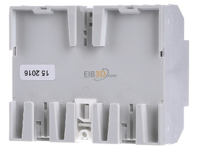 Back view EIBMARKT JA.6.230 KNX shutter/blind actuator 6fold 230V, DRA -_with very large parameters (special sale)