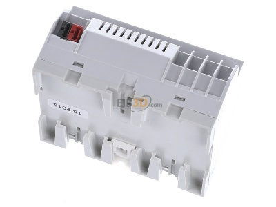Top rear view EIBMARKT JA.6.230 KNX shutter/blind actuator 6fold 230V, DRA -_with very large parameters (special sale)