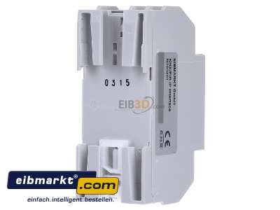 Back view EIBMARKT N000401 EIB KNX IP Interface PoE, with up to 5 tunneling connections