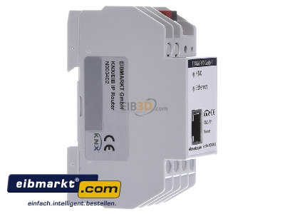 View on the left EIBMARKT N000402 EIB KNX IP Router PoE - special sale for a short time only!