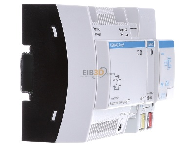 View on the left EIBMARKT EIB, KNX Power supply for 1 line, SV-2/DR1