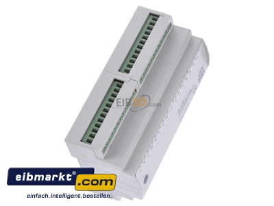 View top left MDT BE-16000.01 EIB/KNX Binary Input 16-fold, 8SU MDRC, Contact Inputs -