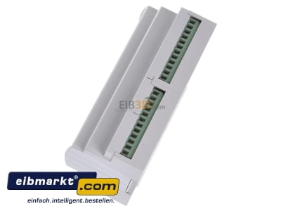 View top right MDT BE-16000.01 EIB/KNX Binary Input 16-fold, 8SU MDRC, Contact Inputs -