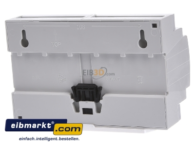 Back view MDT JAL-0810.02 EIB/KNX Shutter Actuator 8-fold, 8SU MDRC, 10A, 230VAC -