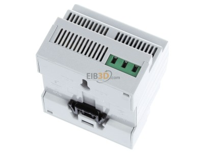 Top rear view MDT STC-0640.01 Bus power supply with diagnosis function, 4SU MDRC, 640mA -